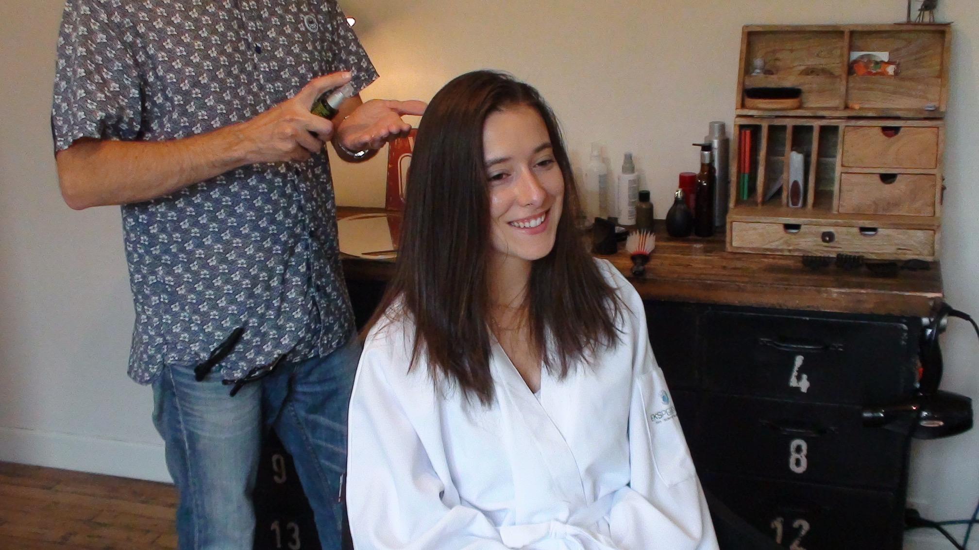 soin des cheveux longs