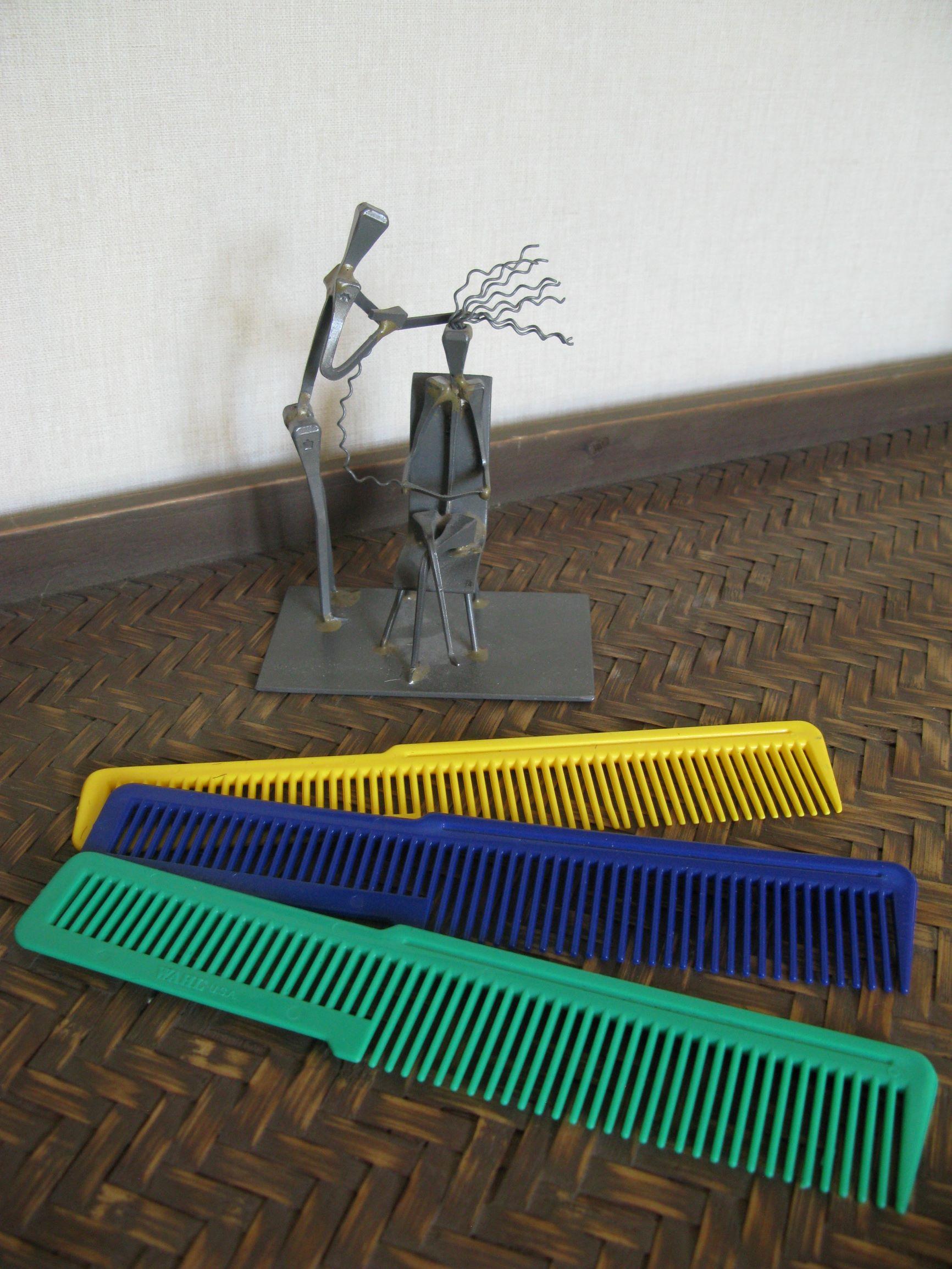 peignes pour couper les cheveux